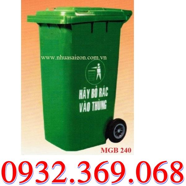 Thùng Rác Nhựa Nhập Khẩu Chất Lượng Giá Rất Việt Nam