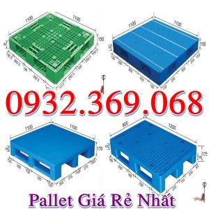 Pallet Nhựa Giá Rẻ Nhập Khẩu Phân Phối Trên Toàn Quốc