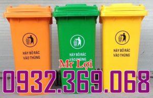 thùng rác 120 lít 240 lít