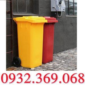 Thùng Rác Nhựa 240L Nhập Khẩu Giá Tốt Nhất Thị Trường Hiện Nay