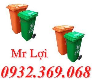 Thùng đựng rác công cộng 120 lít