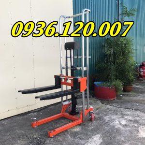 Xe Nâng Tay Cao Mini 400kg Lên Cao 1.3m