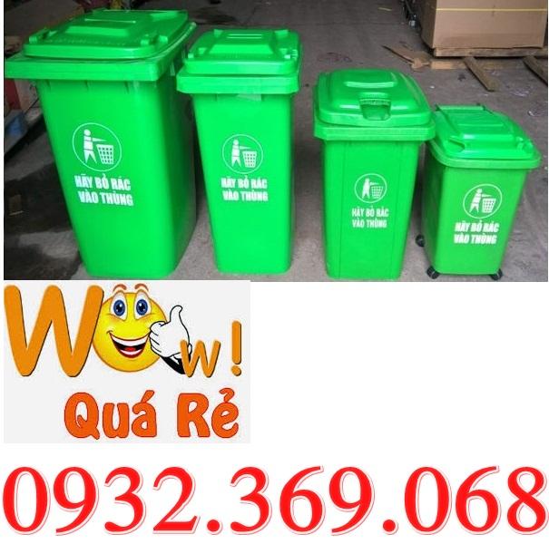 Giá thùng rác 120 lít